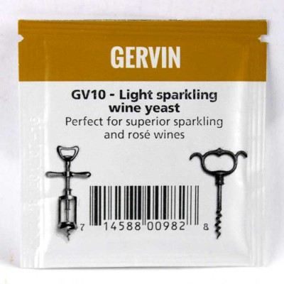 Винные дрожжи Gervin GV10 Light Spark Wine
